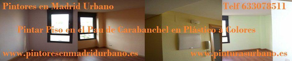 Pintar piso en el Pau de Carabanchel