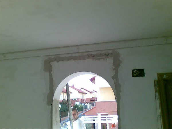 Colocacion de Arco de Escayola