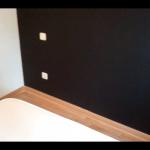 Papel Vinilico color Negro imitacion texturglas 8