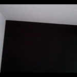 Papel Vinilico color Negro imitacion texturglas 7