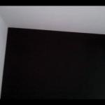 Papel Vinilico color Negro imitacion texturglas 5