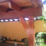 Barnizar con Xyladecor color Teka - Pinturas Urbano