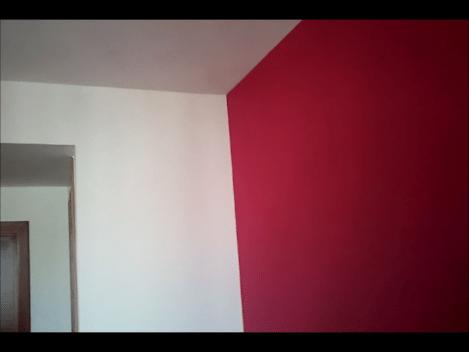 Plastico color rojo y beige 2