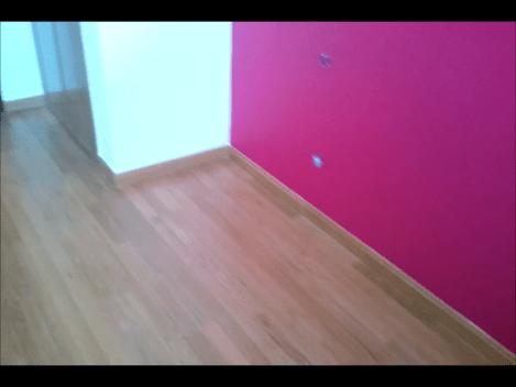 Plastico color rojo y beige 3