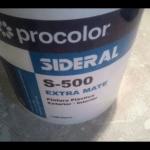 Plastico Procolor Sideral S-500