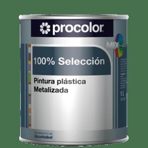 Pintura Plastica 100% Selección Metalizado Mix