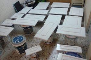1ª Mano de Laca en Muebles de Cocina (3)