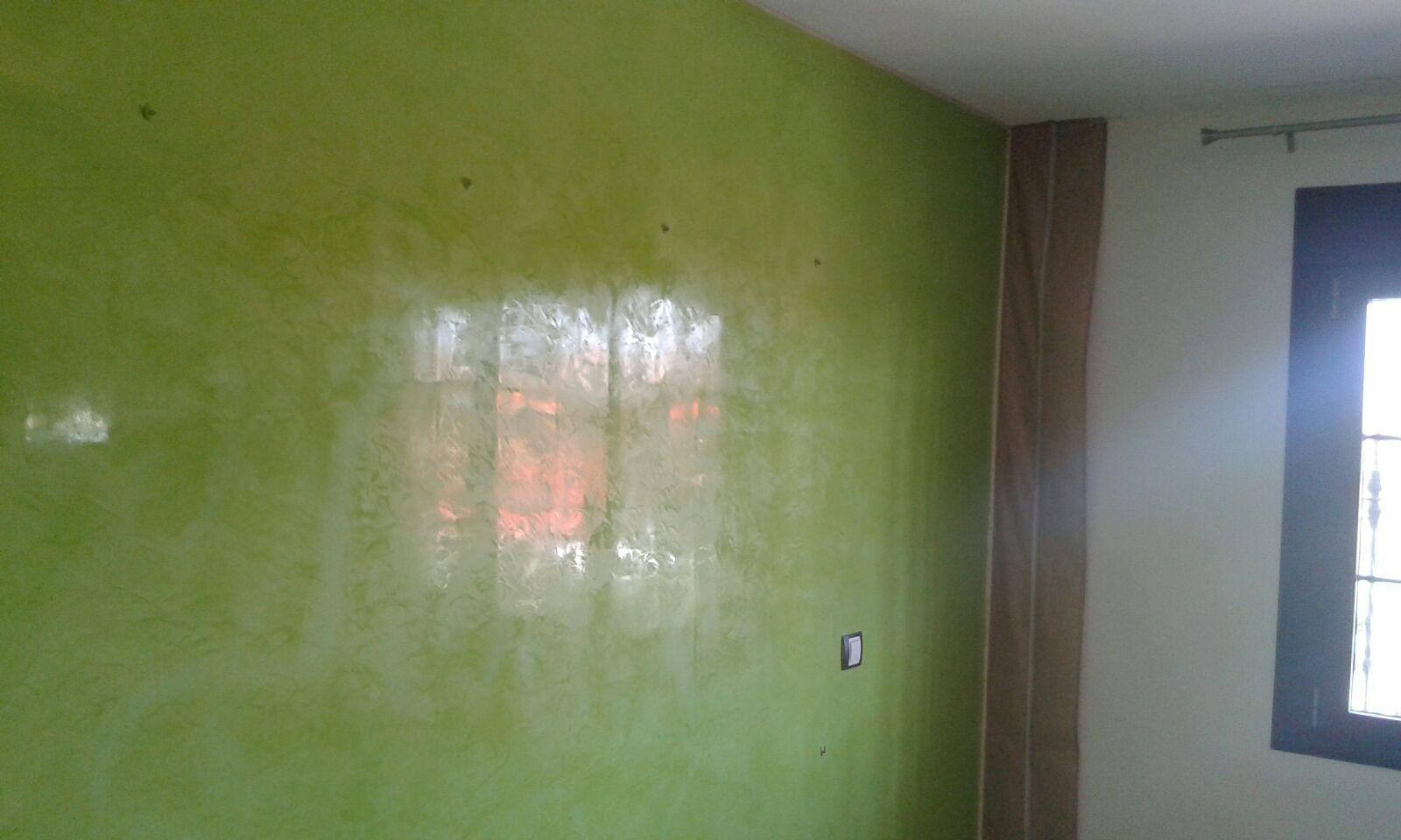Estuco veneciano veteado color verde 15 pintores en - Pinturas estuco veneciano ...