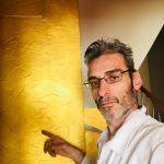 Cera Metal Oro Sobre Efecto Rustico Brisa - Mañana (2)