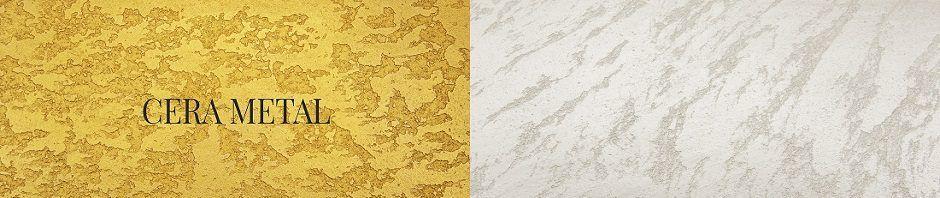 Cera Metal Oro y plata