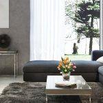 osaka pintura decorativa efecto microcemento color esencia gris oscuro negro salon