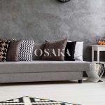 osaka pintura decorativa efecto microcemento color esencia gris oscuro negro salon juvenil