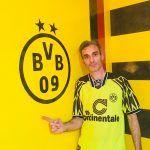 Estuco Veneciano Original a rayas amarillas y negras Borussia Dortmund (108)
