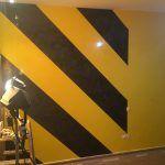 Estuco Veneciano Original a rayas amarillas y negras Borussia Dortmund (32)