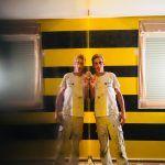 Estuco Veneciano Original a rayas amarillas y negras Borussia Dortmund (72)