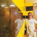 Estuco Veneciano Original a rayas amarillas y negras Borussia Dortmund (82)