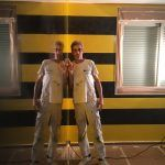 Estuco Veneciano Original a rayas amarillas y negras Borussia Dortmund (9)