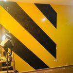 Estuco Veneciano Original a rayas amarillas y negras Borussia Dortmund (94)