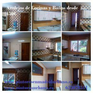 Oferta pintar azulejos de cocinas y baños