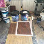 Muestras Estuco Marmoleado a 2 colores Marron y Chocolate (7)