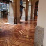 Barnizado de Parquet en el Palacio de la Bolsa de Madrid (17)