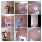 Estuco Marmoleado a 2 colores Marrones 2ª Mano de Cera Terminado (3)-COLLAGE