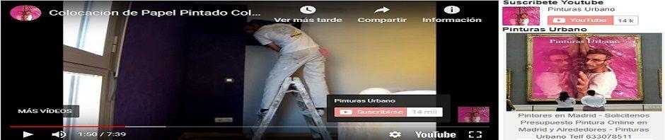 Banner Papel pintado Morado