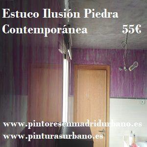 Oferta Estuco Ilusión Piedra Contemporánea