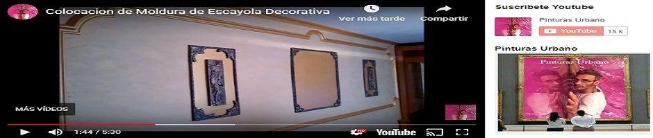 Video Colocacion de Moldura de Escayola