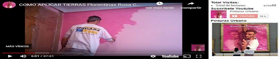 Banner Aplicar Tierras Florentinas Rosas con Rosa