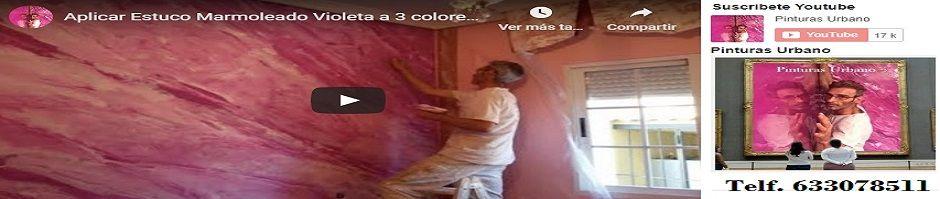 Banner Estuco Marmol Veteado a 3 colores con Cera Kepi