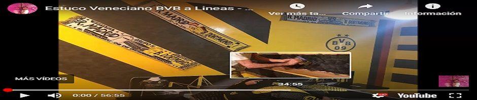 Banner Estuco Veneciano Borussia de Dortmund