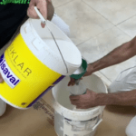 Preparacion de Fijador al agua
