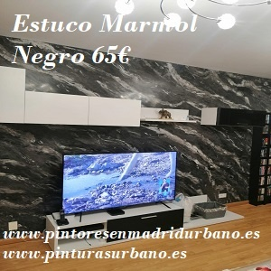 Oferta Estuco Usera Marmol Negro - Pinturas Urbano