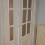Lacado de puertas blanco y plastico liso gris con veloglas (13)