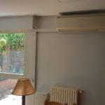 Lacado de puertas blanco y plastico liso gris con veloglas (14)