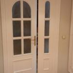 Lacado de puertas blanco y plastico liso gris con veloglas (19)