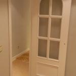 Lacado de puertas blanco y plastico liso gris con veloglas (3)